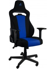 Scaun gaming Nitro Concepts - E250, negru/albastru