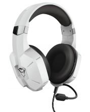 Casti gaming Trust - GXT 323W Carus, PS5/PC, albe