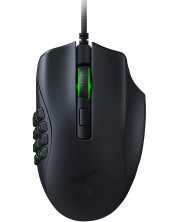 Mouse gaming Razer - Naga X, optic, negru