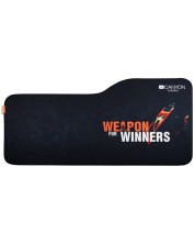 Mousepad gaming Canyon - CND-CMP10, L, moale, neagra