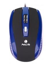 Mouse gaming  NGS - Tick, optic, 800 dpi, albastru