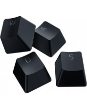 Set gaming Razer - PBT Keycap + Coiled Cable Upgrade Set, negru