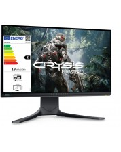 """Monitor gaming Dell - Alienware, AW2521H, 24.5"""", FHD, 360Hz, negru -1"""