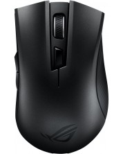 Mouse gaming Asus - ROG Strix Carry, optic, wireless, gri