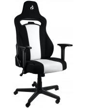 Scaun gaming Nitro Concepts - E250, negru/alb