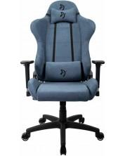 Scaun gaming - Arozzi, Torretta Soft Fabric,albastru -1