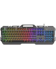 Tastatura mecanica Trust - GXT 853 Esca, RGB, gri