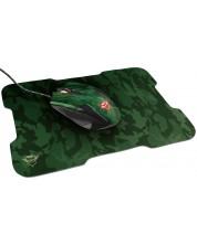 Set gaming mouse si pad Trust - GXT 781 Rixa Camo, verde
