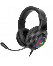 Casti gaming cu microfon Redragon - Hylas H260RGB, negre