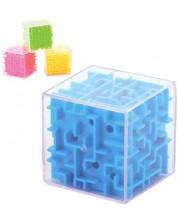 Joc de inteligenta Johntoy - Cub Labirint, mare, sortiment -1