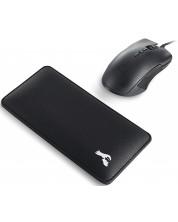Mouse pad pentru incheieturi Glorious - pentru mouse, negru