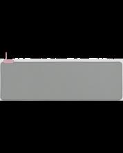 Mousepad pentru mouse Razer Goliathus Extended Chroma - Quartz, gri