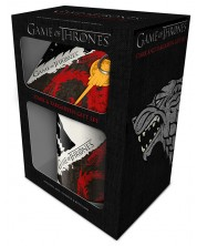 Set cadou Pyramid - Game Of Thrones: Stark and Targaryen