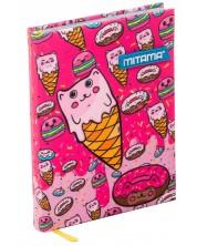 Agenda Mitama A5 - Sweets, cu coperti textile -1