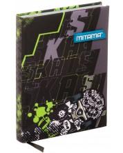 Agenda Mitama A5 - Skate, cu coperti textile -1