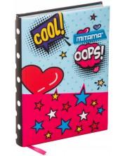 Agenda Mitama A5 - Pop Art, cu coperti textile -1