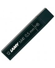 Grafit pentru creion Lamy - 0.5 mm HB, 12 bucati -1