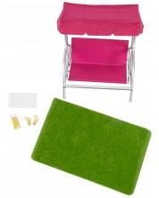 Set mobilier pentru papusi Lori Dolls - Mobilier de gradina -1