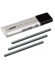 Grafit pentru creion Lamy - 3.15 mm 4B, 3  bucati -1