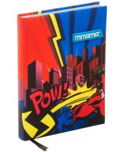 Agenda Mitama A5 - Superhero, cu coperti textile -1