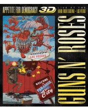 Guns N' Roses - Appetite for Democracy 3D: Live At The Hard Rock Casino - Las Vegas (Blu-ray)