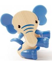 Jucarie pentru copii din bambus Hape - Animal mini Elefant -1