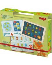 Joc magnetic pentru copii Haba - Matematica, in cutie -1