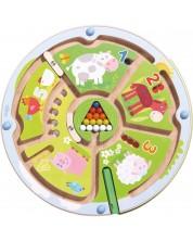 Joc magnetic pentru copii Haba - Cifre si animale -1