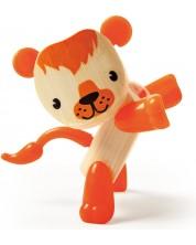 Jucarie pentru copii din bambus Hape - Animal mini Leu -1