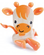 Jucarie pentru copii din bambus Hape - Animal mini Girafa -1