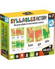Joc educativ Headu - Atelierul de silabe -1