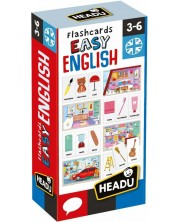 Cartonase educative Headu - Engleza usoara -1