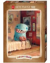 Puzzle Heye de 500 piese - Dinte de lapte, Zozoville
