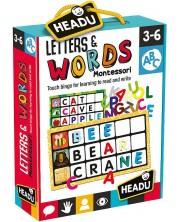 Joc educativ Headu Montessori - Atinge si ghiceste litera -1