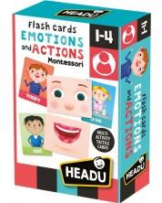 Cartonase educative Headu Montessori - Emotii si actiuni -1