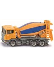 Masinuta metalica Siku Super - Betoniera Scania, 1:87 -1