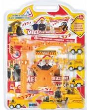 Set de joaca RS Toys - Masini de constructii, 6 bucatii -1