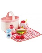 Set de joaca Hape - Cos pentru picnic -1