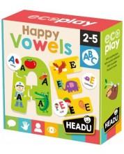 Set de joaca Headu Happy Vowels - Vocale fericite -1