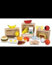 Set de joaca Melissa & Doug - Produse alimentare din lemn -1