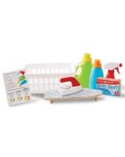 Set de joaca Melissa & Doug - Cos de rufe si detergenti -1