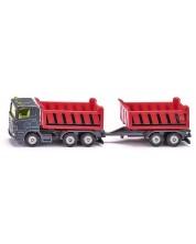 Masinuta metalica Super - Camion pentru materiale de constructii -1