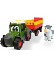 Jucarie Dickie Toys Happy - Tractor cu remorca, 30 cm -1