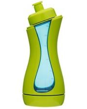 Sticla sport iiamo sport - Verde si albastru, 380 ml -1