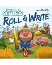 Joc de societate Imperial Settlers: Roll & Write - de familie