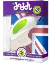 Cutit inovativ pentru alimentatie pentru copii Doddl - verde -1