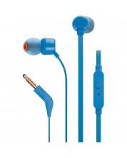 Casti JBL T110 - albastre
