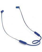 Casti wireless JBL T110BT - albastre