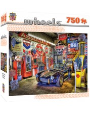 Puzzle Master Pieces de 750 piese - Comoara garajului, Linda Berman