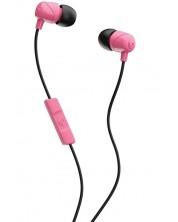 Casti cu microfon Skullcandy - Jib, roze/negre